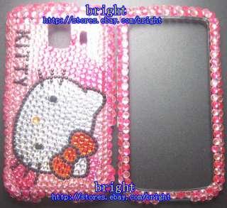 New Hello kitty Bling Case For LG Optimus S LS670 #2