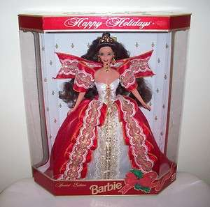 1997 Happy Holiday Barbie Doll Special Edition White