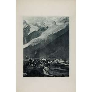 1904 Mont Blanc Chamonix Switzerland France Mountain