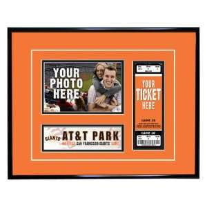 San Francisco Giants My First Game Ticket Frame