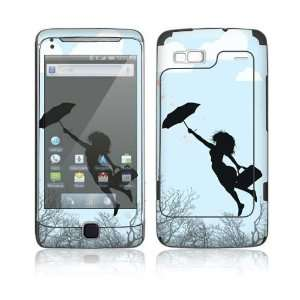 Modern Super Woman Decorative Skin Cover Decal Sticker for HTC Google