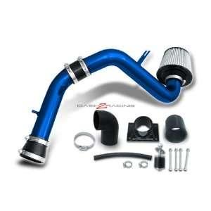 00 05 Mitsubishi Eclipse 4 Cylinder Cold Air Intake   Blue Piping