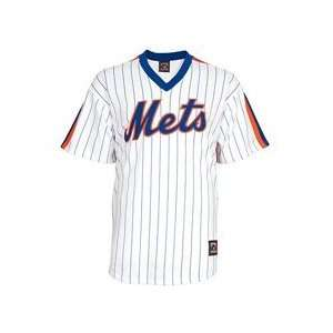 New York Mets Fan Replica 1988 Home Cooperstown Jersey   White/Royal