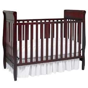 Rockland Caden Convertible Crib Cherry