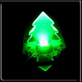 10 X pocket lamp LED Christmas Tree Folding Card Night Light Lamp XMAS