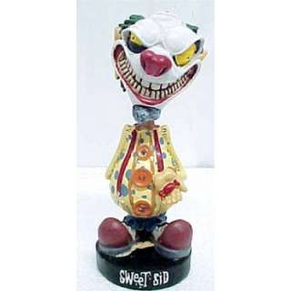 Sweet Sid Evil Clown Bobble Head Statue Figure