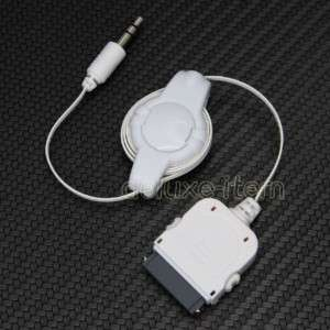 CAR AUDIO INPUT 3.5MM AUX AUXILARY CABLE FOR IPHONE 4