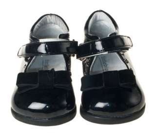 Girls Toddler Black Patent Leather Shoes sizes 6 10 NEW