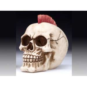 New! Skull Punk Rock Mohawk Rocker Roman Home Decor