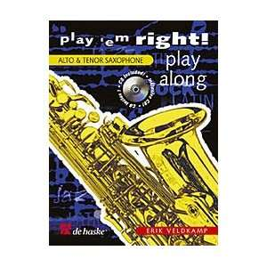 Em Right Play Along Book With CD Alto & Tenor Sax