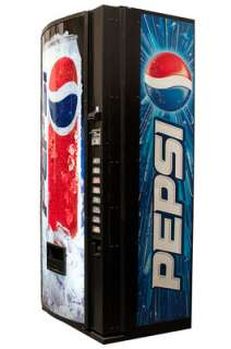 440 Single Price Soda Can Vending Machine Coke Pepsi Dr Pepper