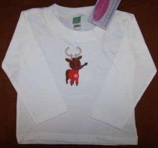 Winter Snowflake Christmas Holiday Sweater Baby Toddler Shirt