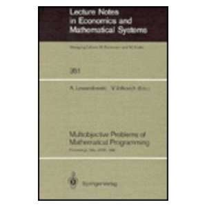 Mathematical Programming Proceedings of the International Conference