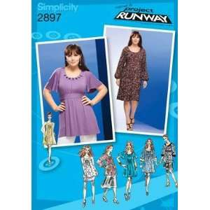 SIMPLICITY PATTERN 2897 PROJECT RUNWAY WOMENS PETITE