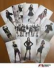 SNSD GIRLS GENERATION FREE STYLE SPECIAL PHOTO CARD SET ( LIMITED )