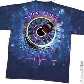New PINK FLOYD Pulse Concentric Tie Dye T Shirt