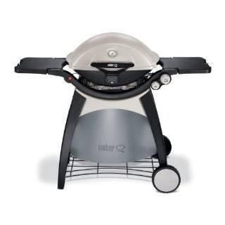 Weber 586002 Q 320 Portable Outdoor Propane Gas Grill