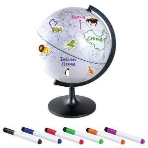 Elenco 11 Color My World Globe With stickers Toys & Games
