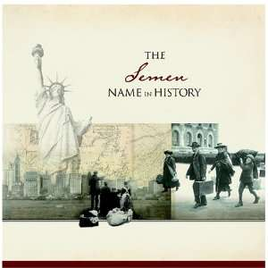 The Semen Name in History: Ancestry Books