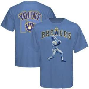 Robin Yount MLB Milwaukee Brewers MVP T Shirt Sports