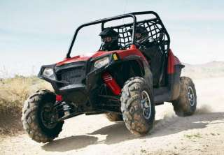 RED Shock Covers POLARIS Ranger RZR 900 XP EFI (Set of 4)