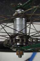 Vintage 1950 Schwinn Panther rat rod bicycle green balloon tire bike