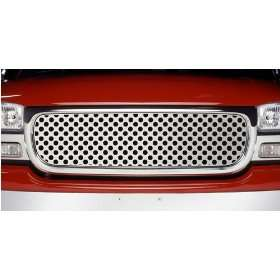 Putco Punch Grille Insert w/ Logo Cut Out   Stainless, for