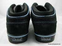 ADIDAS CULVER VULC MID MENS SKATE SHOES G09017 BLACK SILVER BLUE