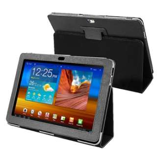 Leather Skin Cover Case+Stand For Samsung Galaxy Tablet 10.1 P7500