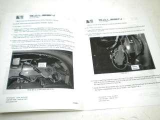 Saleen Mustang Twin Dash Gauge Pod Install Manual 96 04