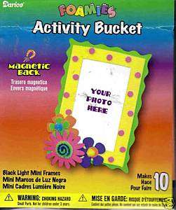 Darice Foamies Activity Bucket Magnetic Foam Frame Kit