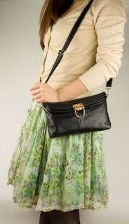 Women Genuine Leather Clutch Purse Designer Crossbody Fold Bag