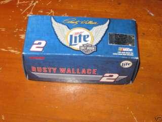 Rusty Wallace # 2 Miller Lite Harley Davidson 1999