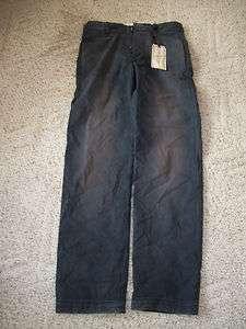 Mens DOCKERS K 1 Military Inspired Rusted Navy Blue Khaki Pants 28x32