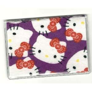 Debit Check Gift Card ID Holder Sanrio Hello Kitty Faces