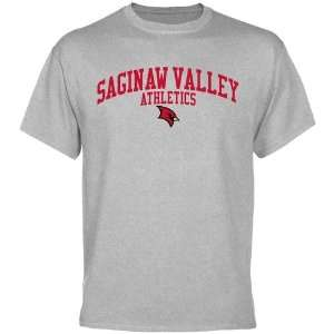 Saginaw Valley State Cardinals Athletics T Shirt   Ash Sports