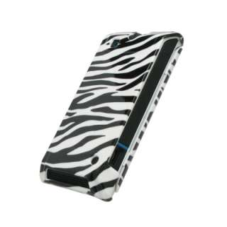 for Motorola Devour Case Cover Zebra+Car+Wall Chargers 654367674130