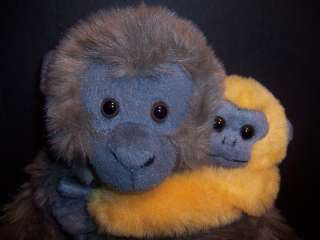 Wildlife Artist Plush Monkey with Baby Stuffed Doll Toy