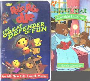 Rolie Polie Olie Great Defender of Fun & Little Bear 786936172027