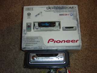 Pioneer DEH P8400mp car stereo complete in box never installed