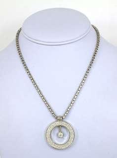 DESIGNER ROBERTO COIN 18K GOLD & 3.2 CTS DIAMONDS LADIES PENDANT