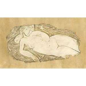 Desnudo Relieve    Print: Home & Kitchen
