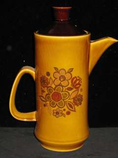 PALISSY ENGLAND   FLOWER DESIGN   COFFEE POT 8