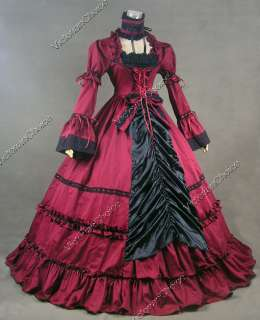 Renaissance Gothic Lolita Dress Ball Gown Prom 125 XL