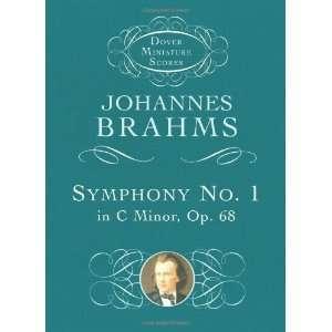 68 (Dover Miniature Music Scores) [Paperback]: Johannes Brahms: Books