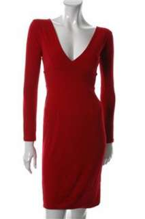 FAMOUS CATALOG Moda Red Casual Dress Stretch Sale M