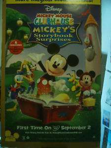 Mickey Mouse Clubhouse Storybook TV movie poster Disney