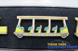 Disney LE Cast Member Disneyland Retired Parking Lot Tram Boxed 3 Pin
