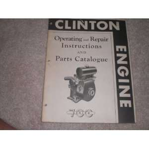 Cushman Husky Engines Instruction and Parts Book M70