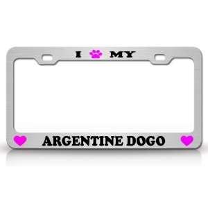 I PAW MY ARGENTINE DOGO Dog Pet Animal High Quality STEEL